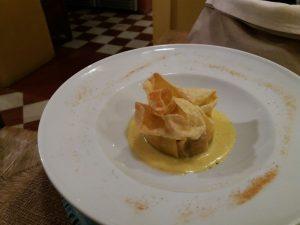lasagnetta croccante osteria in domo